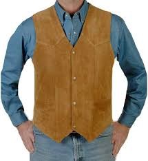 liberty wear cow suede western vest men s leather western vests and jackets