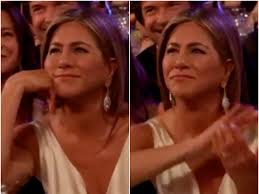 Jennifer Aniston claps at Brad Pitt 'doesn't get on with his ...