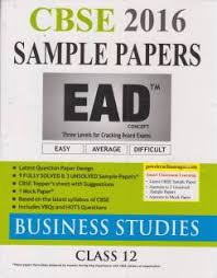 sbpd sample paper business studies for class th buy sbpd cbse nine plus one sample papers business studies class 12 1st edition