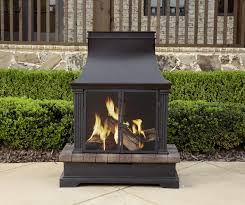 garden oasis wood burning fireplace limited availability