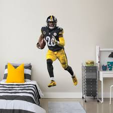 le veon bell life size officially licensed nfl removable wall decal fathead