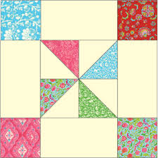 Framed Pinwheel Block: FREE Quilt Block Pattern Download - The ... & Framed Pinwheel Block: FREE Quilt Block Pattern Download Adamdwight.com