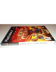 acme looney tunes logo. looney tunes - acme arsenal for playstation 2 ps2 acme looney tunes logo