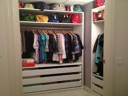 ikea small closet organization