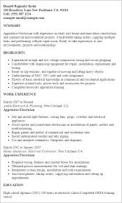 Residential Electrician Resume Sample Xpertresumes Com
