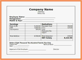 Free Paystub Templates Beauteous Fake Pay Stub Template Fresh Check Stub Template Free 48 48 Salary