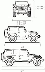 best jeep wrangler dimensions first drive