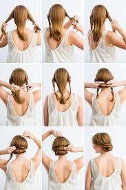 Damen Hochsteckfrisur Idee Einfach Anleitung Diy Schnelle Und Einfache Frisuren A Stylingideen