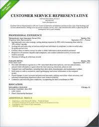 20 New Resume Customer Service Skills List Picture