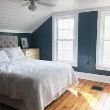 master bedroom. Master Bedroom Makeover With Dark Walls And Planked Ceiling O