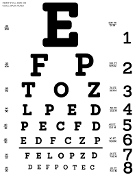 Eye Exam Snellen Chart 45 Unmistakable Eye Test Chart Images