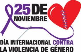 Resultado de imagen de dia contra la no violencia de genero