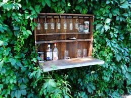 furniture made of pallets. 30. Outdoor Wine Bar Furniture Made Of Pallets