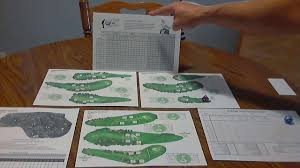 Dice Nutz Pro Golf Game Play Tutorial Part 3 Club Selection Chart
