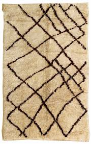 moroccan rugs gallery vintage beni ourain rug hand knotted in morocco size