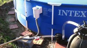 hacked intex 18 standard above ground skimmer 1hp pump and hacked intex 18 standard above ground skimmer 1hp pump and 110lb sand filter
