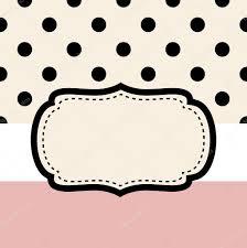wedding retro frame or invitation card ( pink & black ) stock Wedding Card Frame Vector wedding retro frame or invitation card ( pink & black ) stock vector 36702819 wedding card border vector