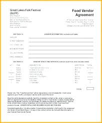 Craft Vendor Application Template Fair Free Online Templates For