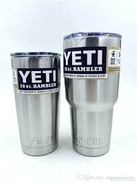 yeti coffee travel mug yeti cup cooler yeti rambler tumbler cup vehicle beer mug double wall