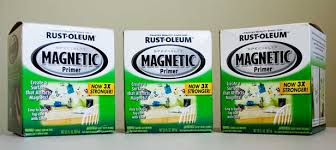 use magnetic paint