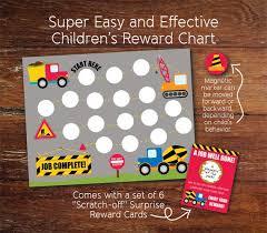 Magnetic Chart Paper Magnetic Reusable Reward Chart For Children Chore Tracker