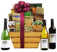 supplemental gift image bountiful vineyard wine gift basket