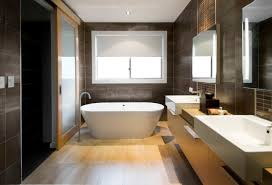 Brown Tiles Bathroom 30 Beautiful Pictures And Ideas High End Bathroom Tile Designs