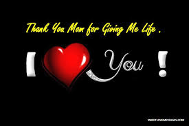 Thank You Mom Quotes Delectable 48 Thank You Mom For Giving Me Life Quotes Sweet Love Messages