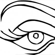 Small Picture Startling Eyes Coloring Page Eye Sheet Best Mask For Tired Online