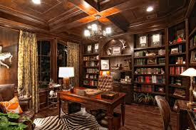 home office library ideas. Home Office : Divine Cabinets And Led Tv For Luxury Offices Ideas With Dark Pertaining Library