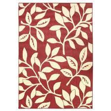 fl reversible cream red fl flat woven 7 ft x 11 ft indoor