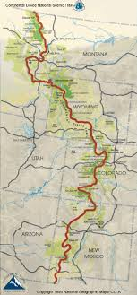 Cdt Maps By Jonathan Ley Continental Divide Trail Travels
