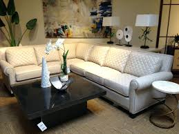 leather nailhead sectional foster sectional sofa brown leather