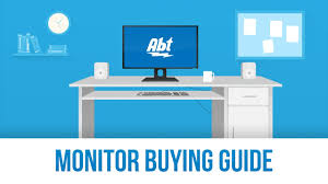 Computer Monitor Sizes Chart Monitor Buying Guide Computers Abt
