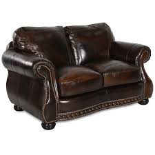 large picture of usa premium leather furniture 8755 20 loveseat chesterfield cowboy