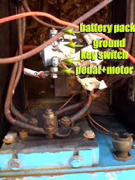 80 s ez go replaced solenoid now won t go i ve ed the wiring diagram from the forum but it really doesn t show the solenoid connections i m stumped as to how to make this ez go roll