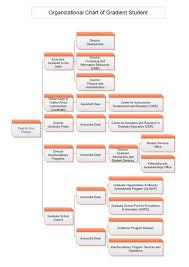 Graduate School Org Chart Organizational Chart