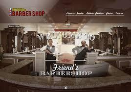Barber Shop Website Friends Barber Shop Website Pillar Social Media