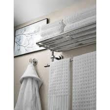 bathroom shelves brushed nickel. found it at wayfair - iso wall mounted towel shelf bathroom shelves brushed nickel u