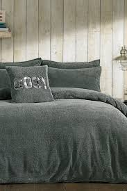 argos home grey fleece bedding set single at argos thousands of products for same day delivery 3 95 or fast collection