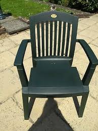 hartman prestige garden chairs x 4 with