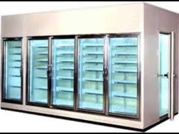 glass door walk in cooler freezer manufacturing company in usa