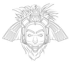 Small Picture Native American Eagle Mask coloring page Free Printable Coloring