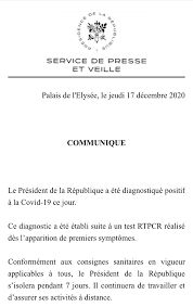 Emmanuel Macron positivo al coronavirus
