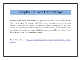 receptionist cover letter sample pdf      receptionist cover letter sample the receptionist cover letter sample will guide you on drafting