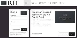net restoration hardware enity bank restoration hardware credit card