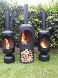 gas bottle wood burner log burner chiminea patio heater fire pit