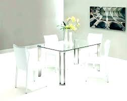 glass kitchen table oval kitchen table set