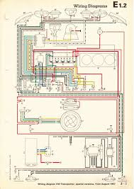 thesamba com type 2 wiring diagrams 1968 8 67 special models