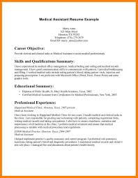 Certified Medical Assistant Resume Free Resume Example And